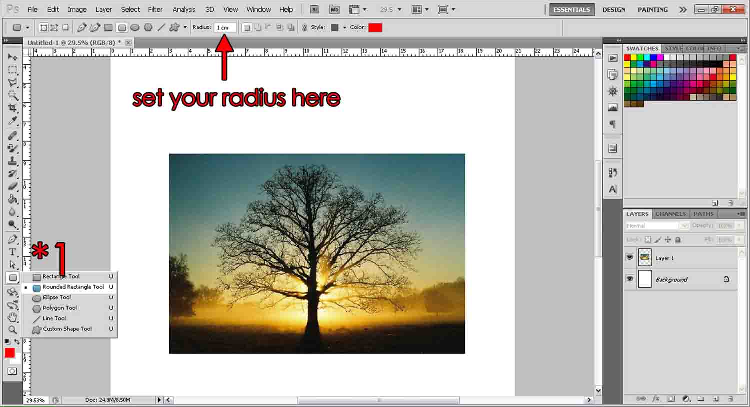 Photoshop CS5.5: Adding One Two or Three