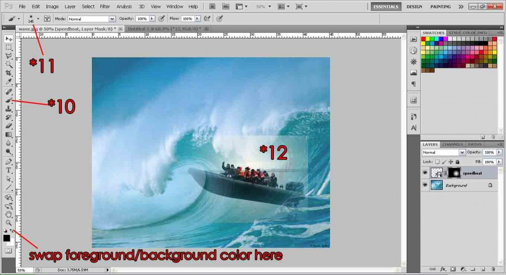 blending images photoshop