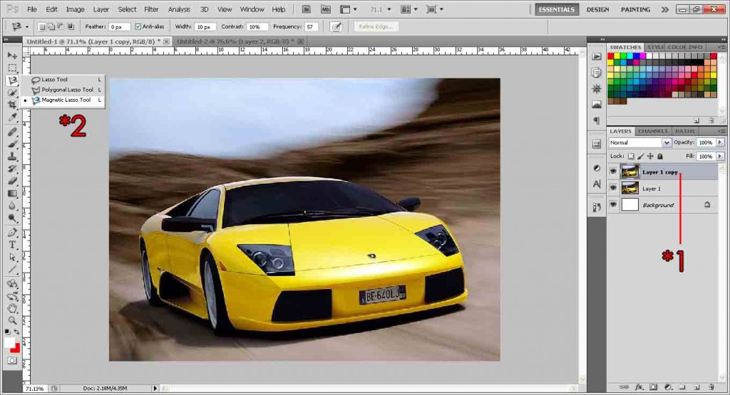 how to use photoshop cs5 1