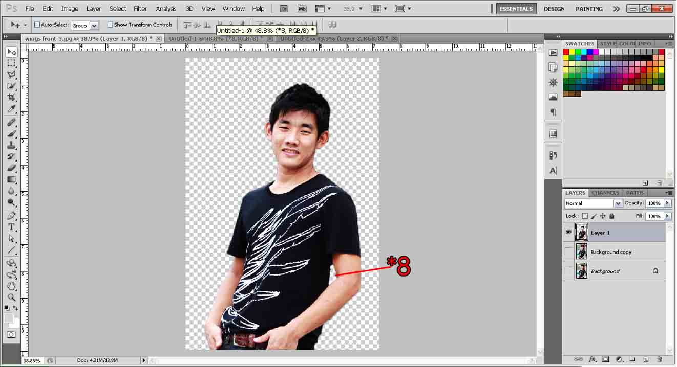 Extract objects with quick selection tool photoshop tutorial extract object baditri Images