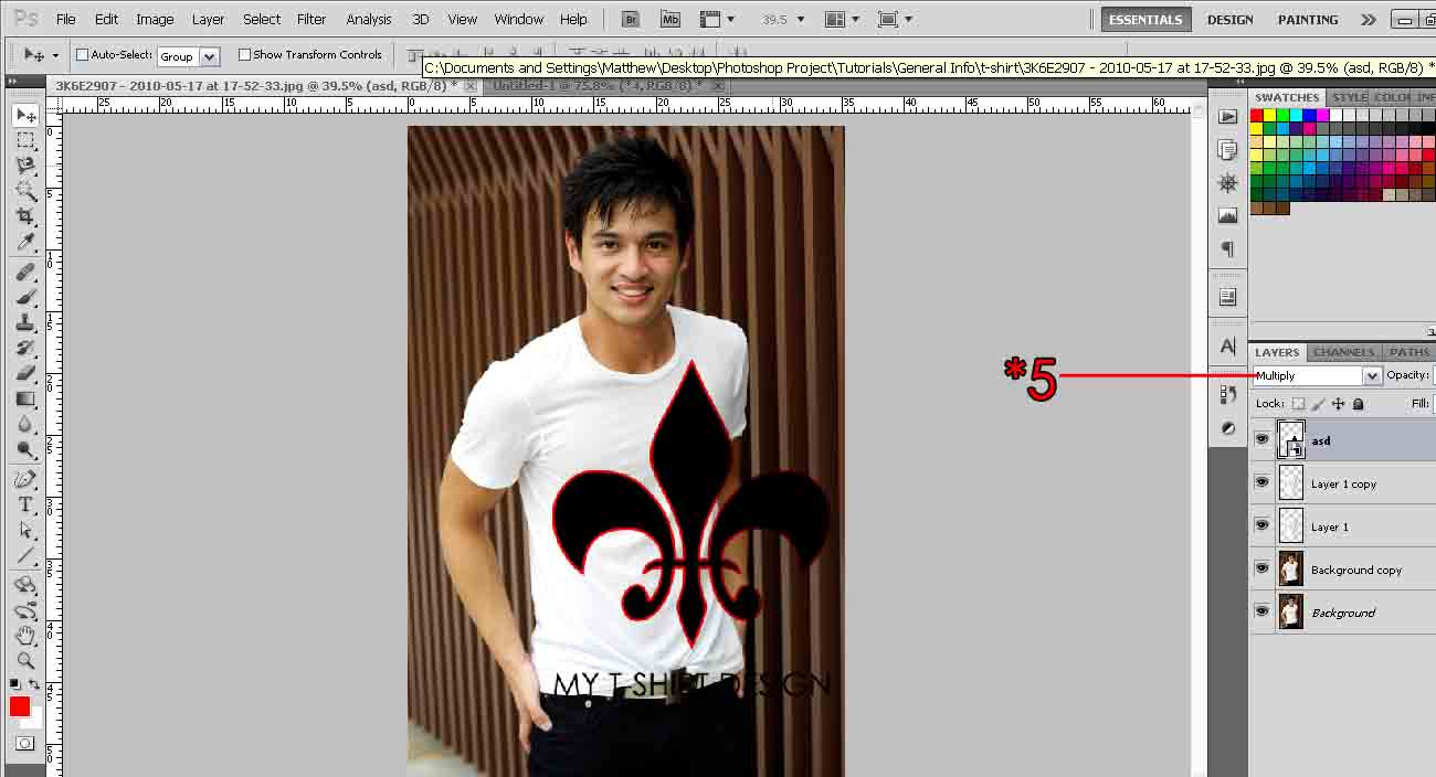 Design A T Shirt Photoshop Tutorial