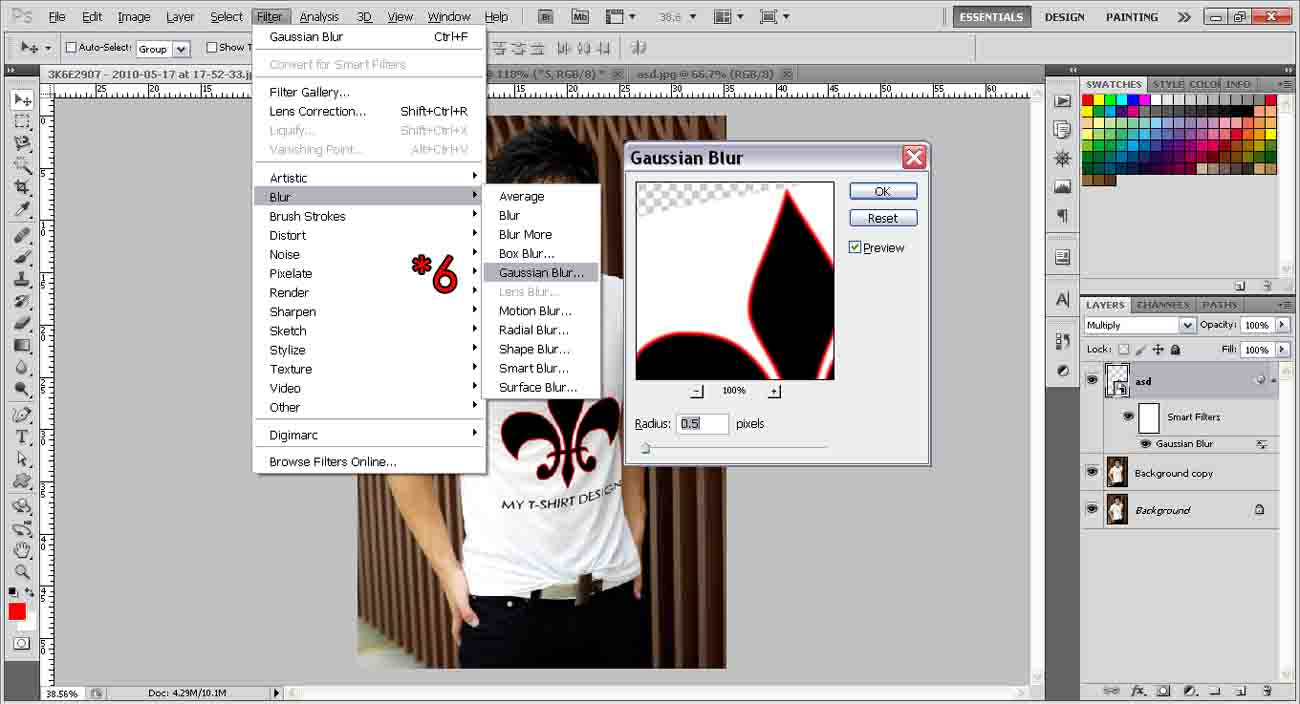 Design A T-shirt | photoshop-tutorial.org